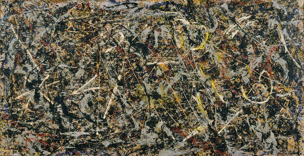 Alchemy 1947 By Jackson Pollock