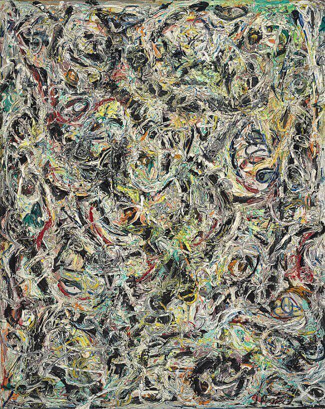 Eyes in the Heat, 1946 by Jackson Pollock