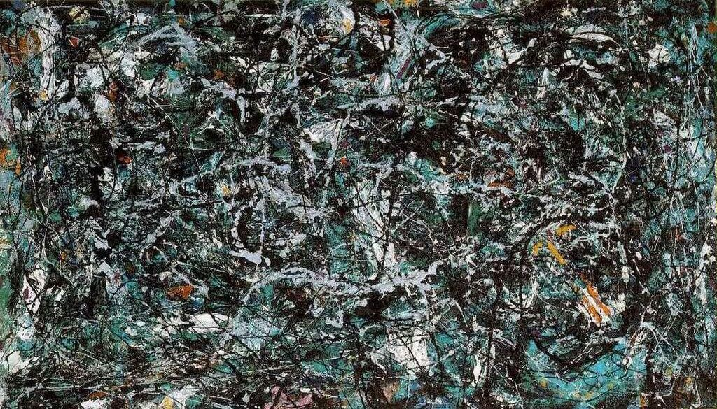 Full Fathom Five By Jackson Pollock - How much is a fathom