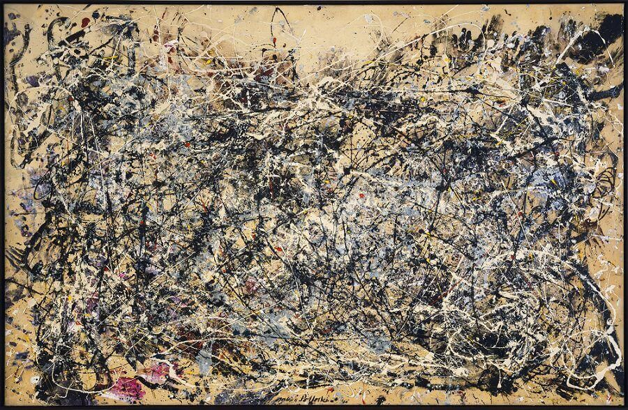 Number 1, 1948 by Jackson Pollock