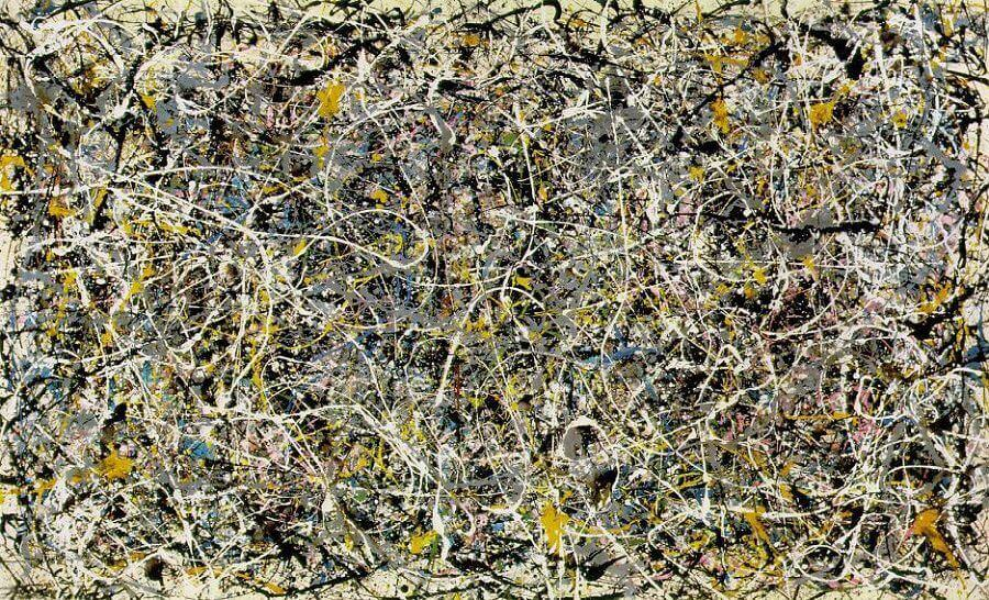 Number one 1950 by jackson pollock for Mural jackson pollock