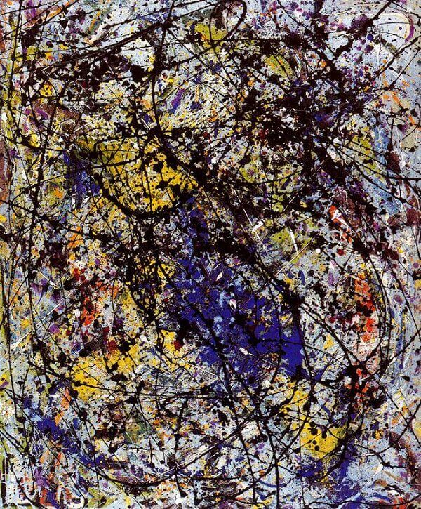 Reflection of the Big Dipper, 1947 by Jackson Pollock