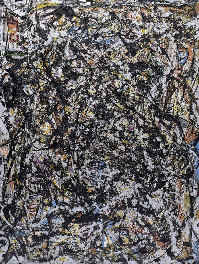 Sea Change 1947 By Jackson Pollock