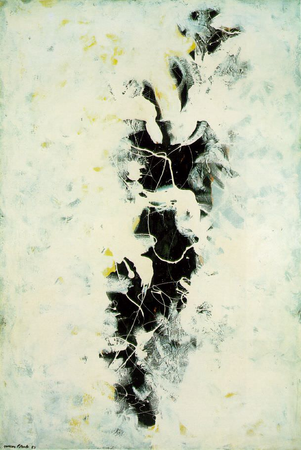 The Deep, 1953 by Jackson Pollock