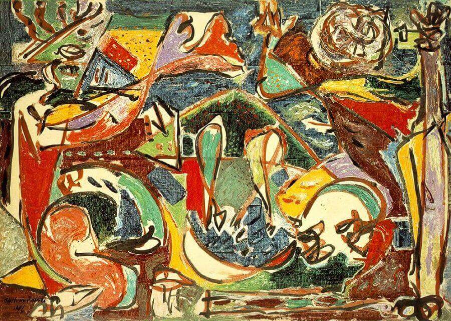 The Key 1946 By Jackson Pollock
